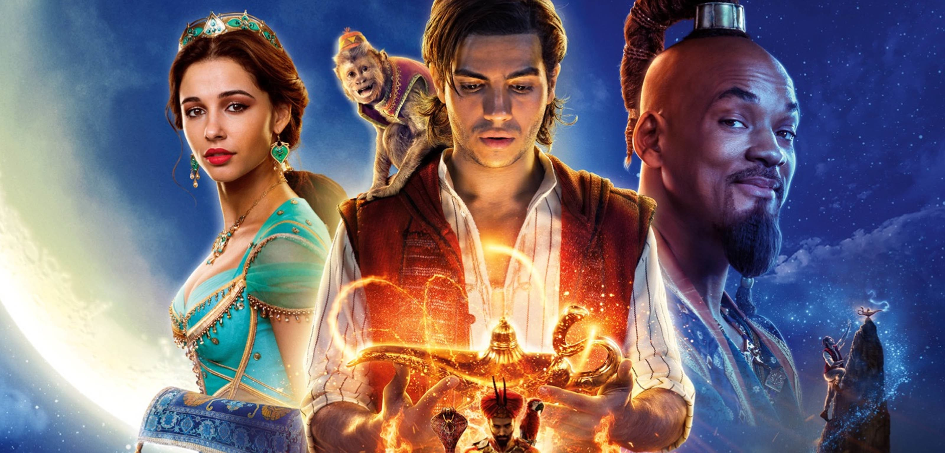 Un poster del film Aladdin
