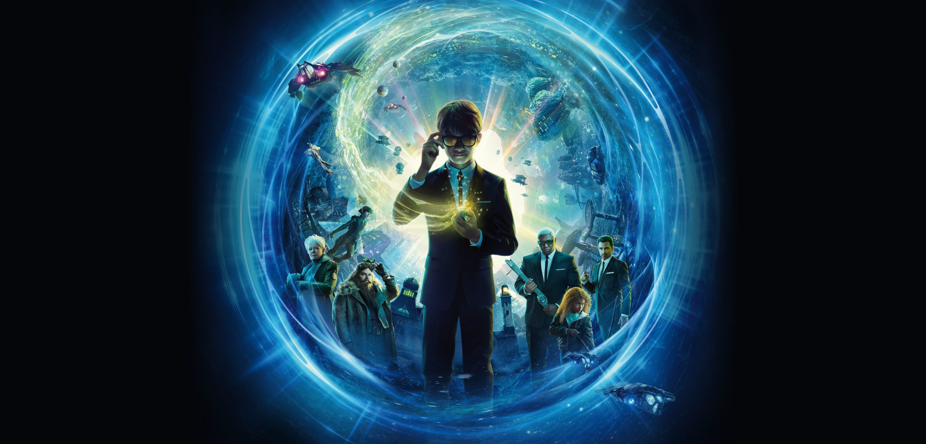 A poster from the film Artemis Fowl