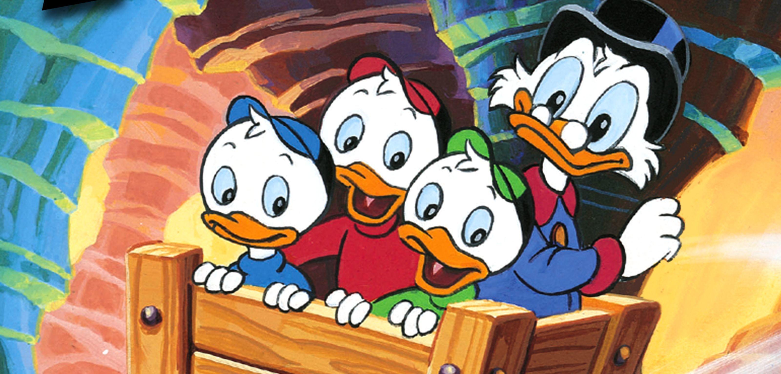 Une image fixe de la série La Bande à Picsou