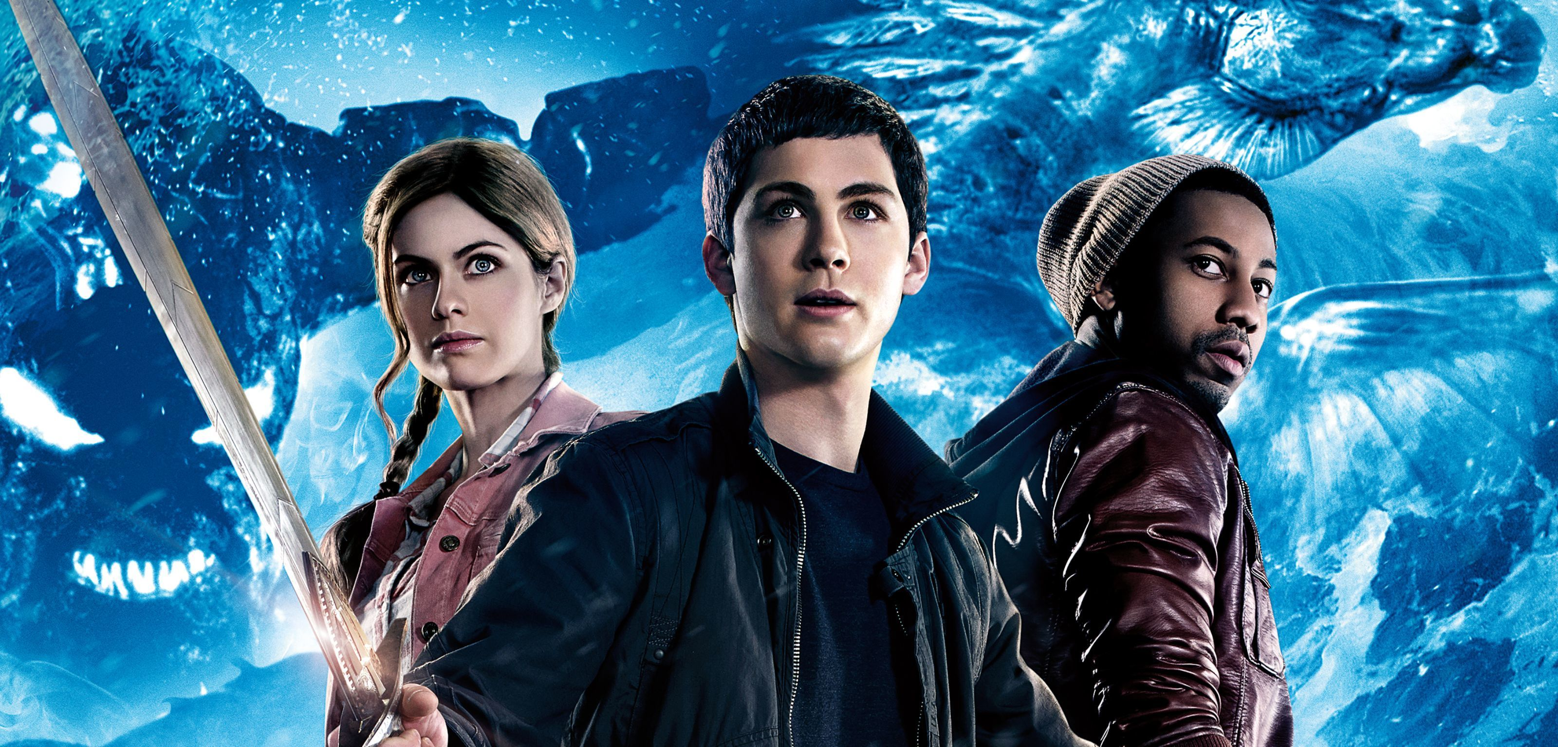Une affiche de Percy Jackson Sea of ​​Monsters