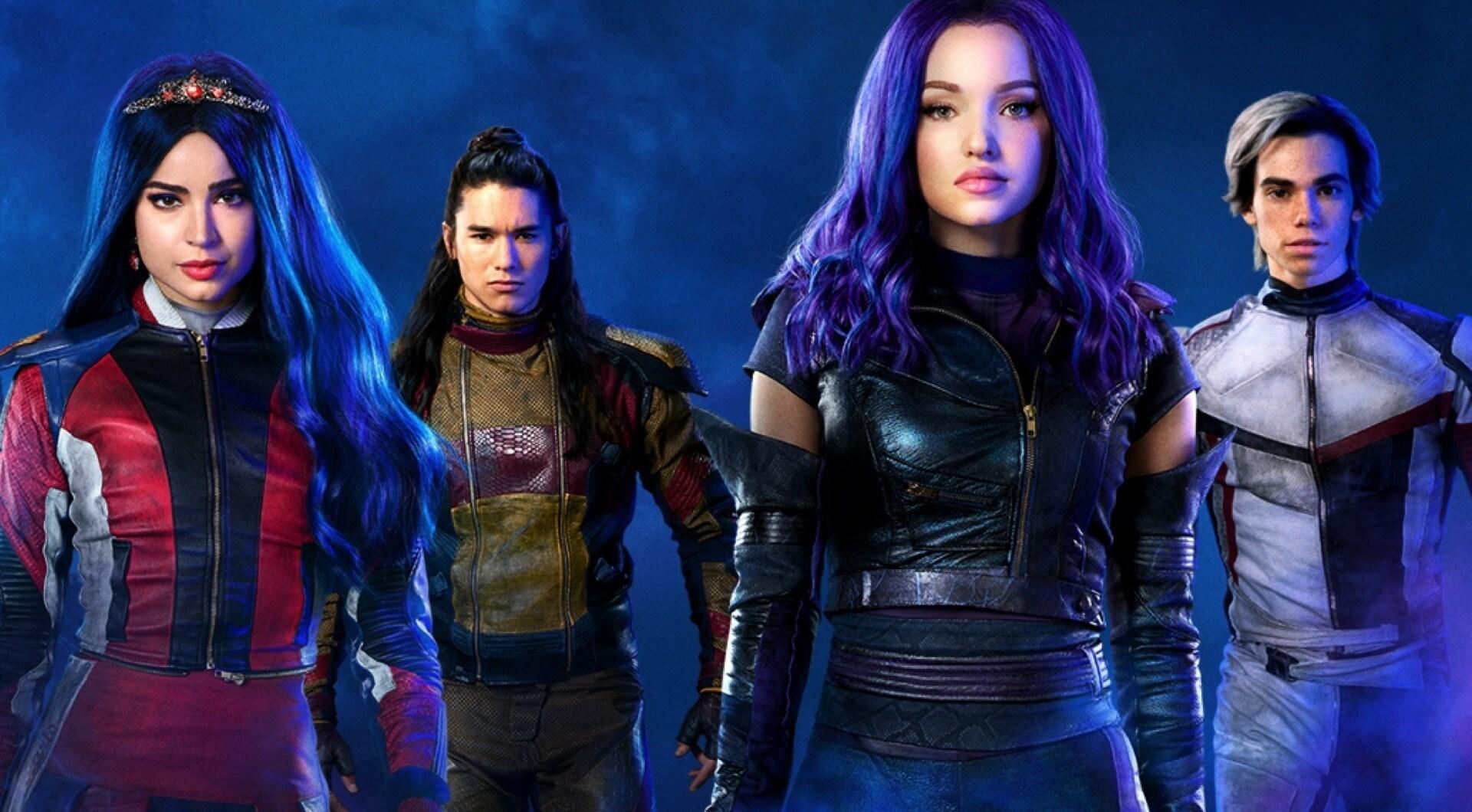 Cast poster from Descendants 3