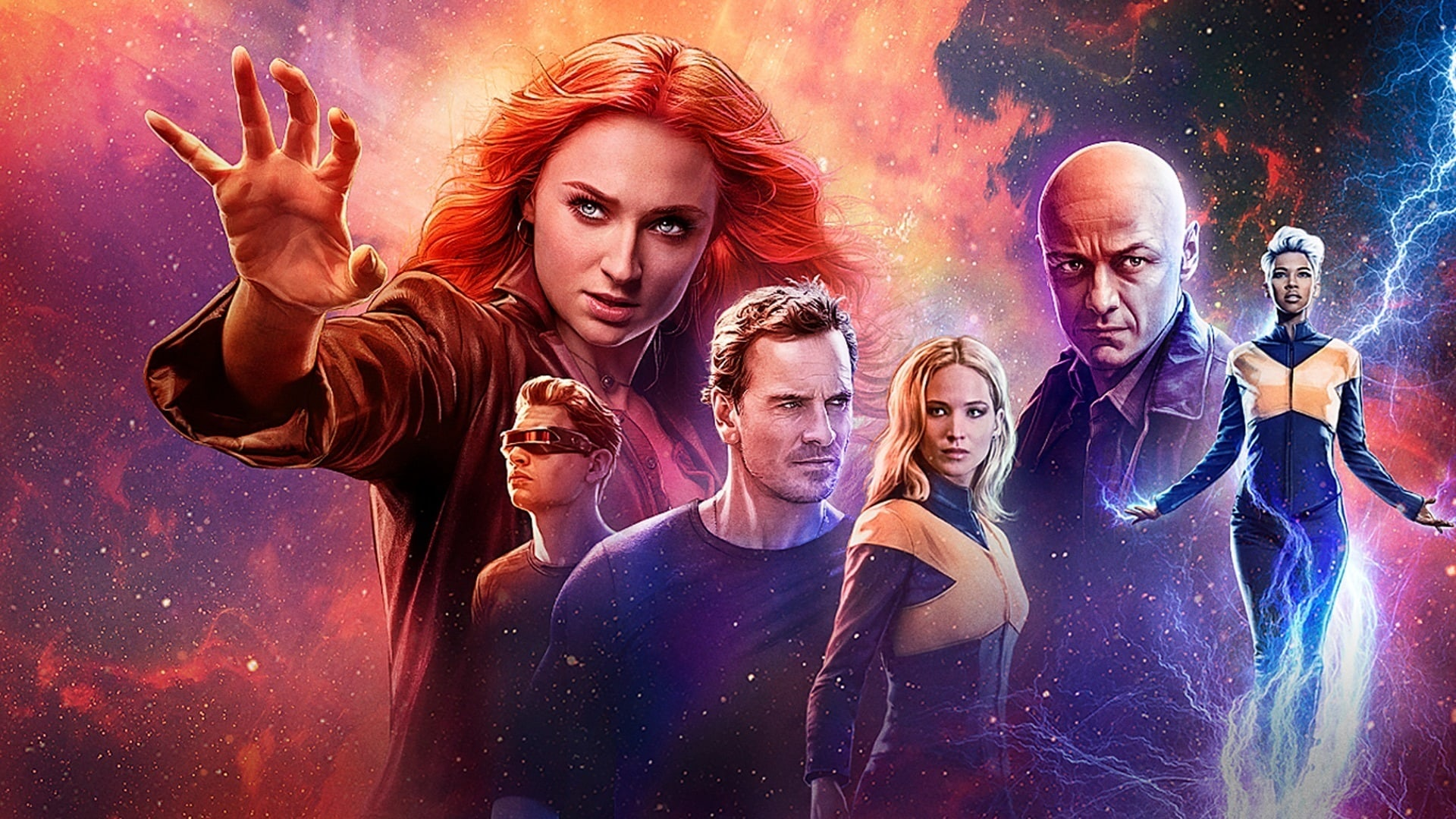 Poster van X-men Dark Phoenix
