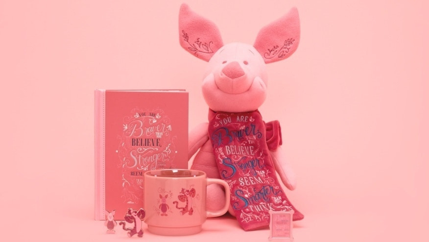 Pimpi Soft Toy, Pimpi Notebook, Pimpi Pin Set and Pimpi Mug