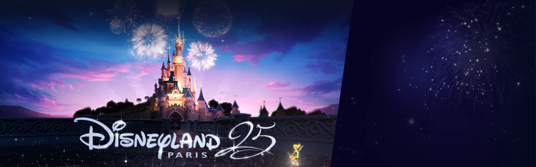 Disneyland Paris réserver animated (hero promo)