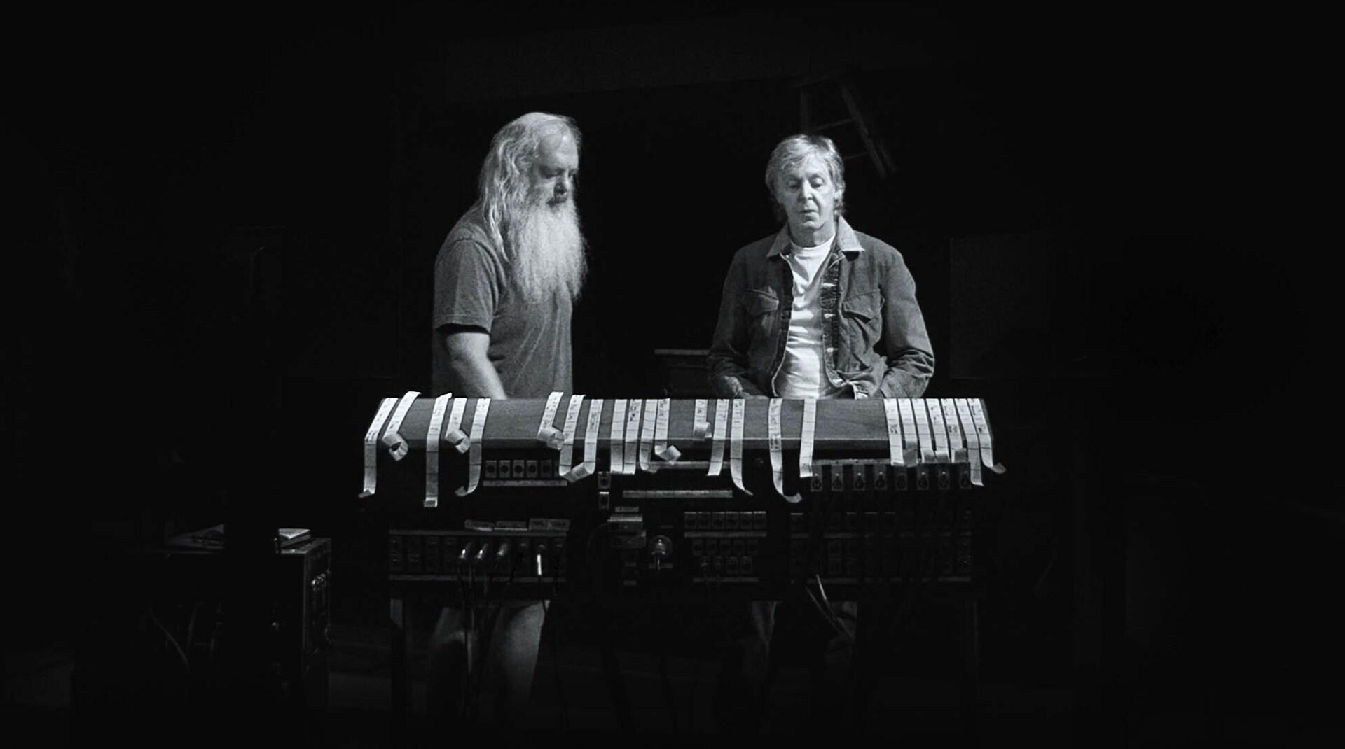 A still image from McCartney 3,2,1