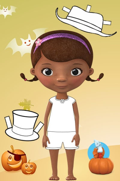 Doc McStuffins Dress for Halloween