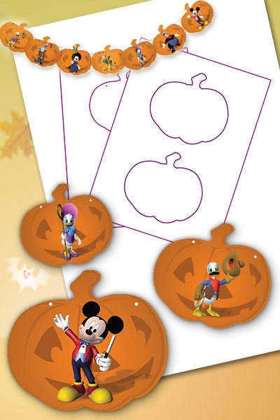 Mickey Mouse Clubhuis Halloweenslinger