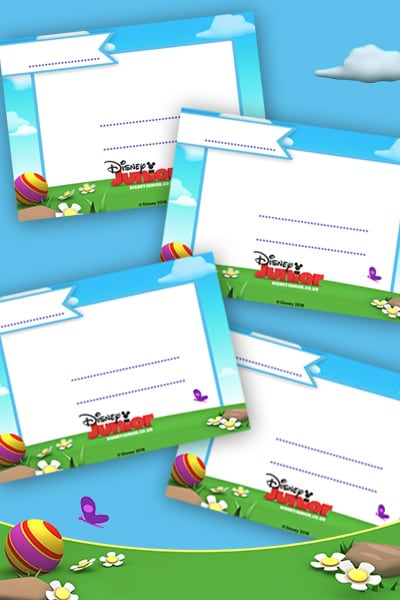 BEFR - Disney Junior Summer - Invitation