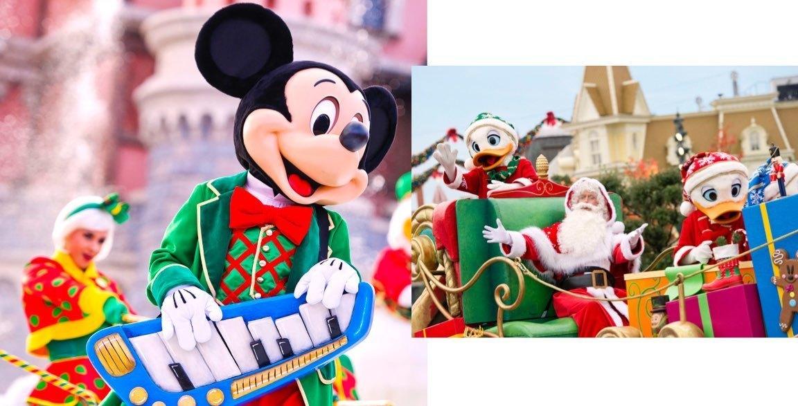Mickey mágikus karácsonyi fényei