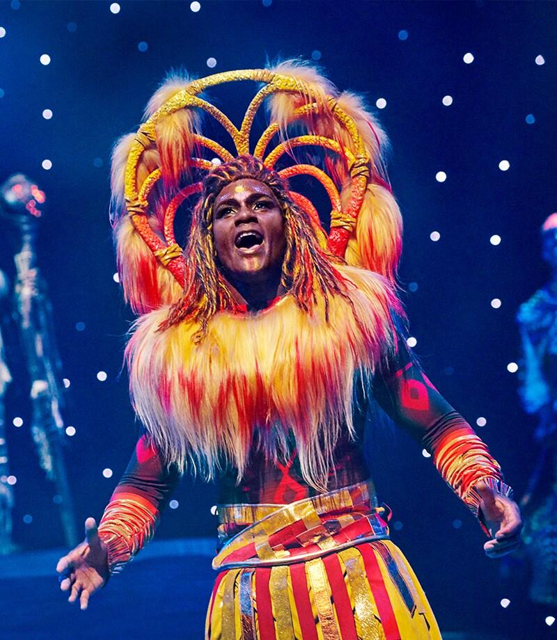 The Lion King Show na Disneyland Paris