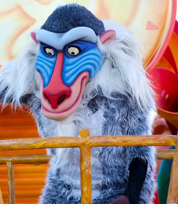 Rafiki at Disneyland® Paris