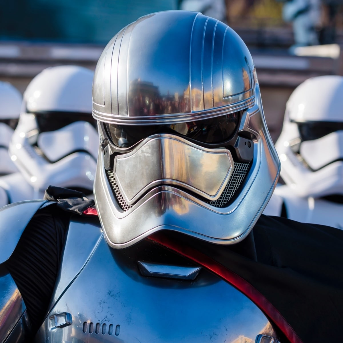Captain Phasma at Disneyland Paris
