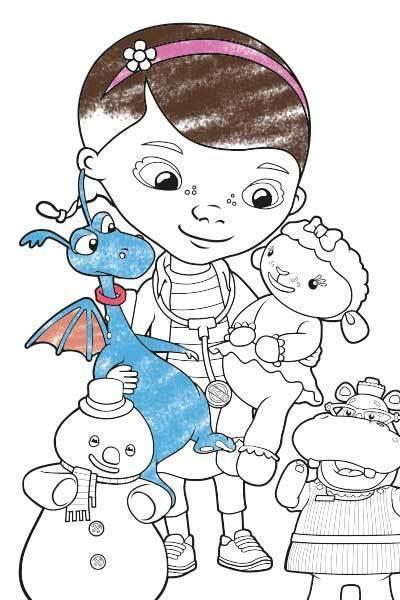 Doutora Brinquedos e amigos