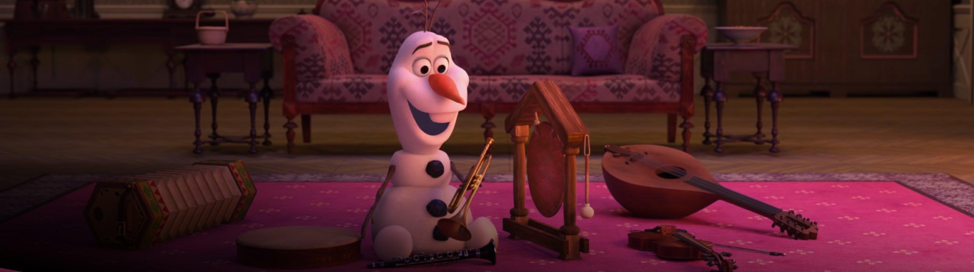 Divertiti a casa con Olaf