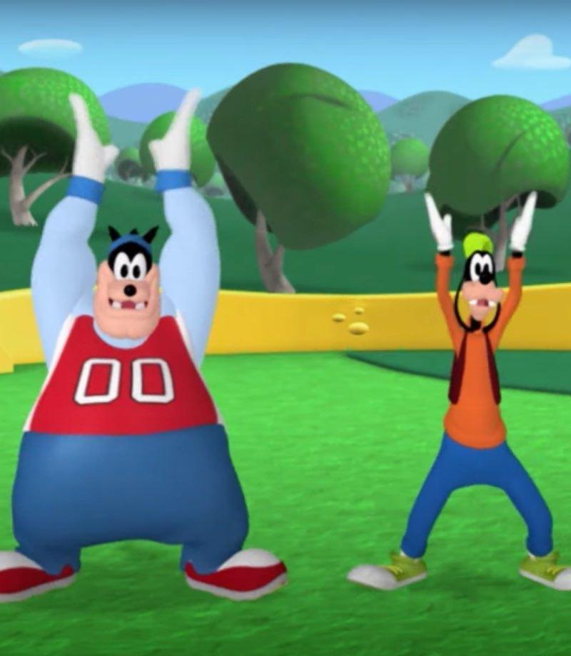 Goofy dans ediyor