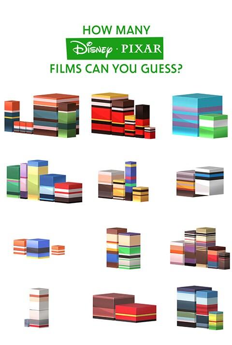 Emoji Blocks - Pixar