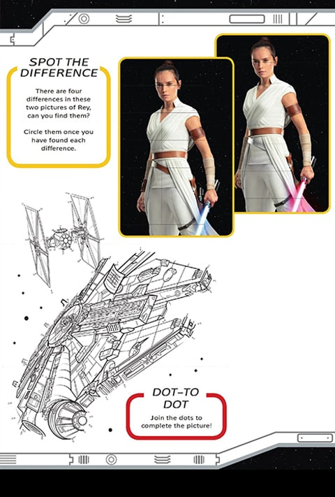 Star Wars - Medi Cinema - Pack 5 Spot the Difference and Dot-to-Dot
