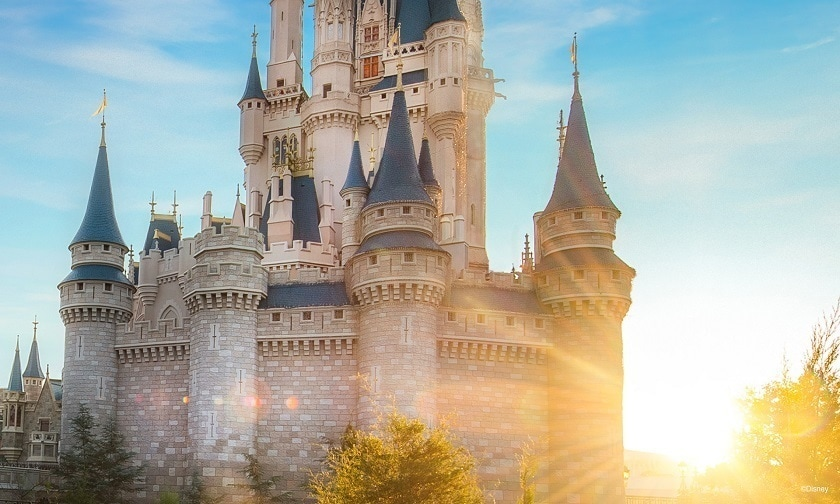 Castillo de la Cenicienta en Walt Disney World