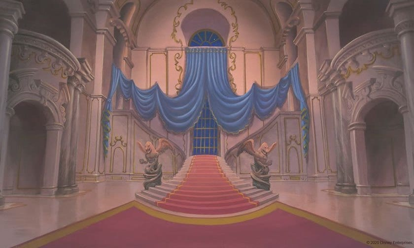 Disney Classics - Zoom Backgrounds - Beauty and the Beast