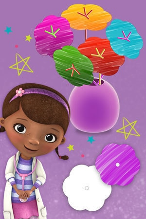 Doc McStuffins Flower Bouquet