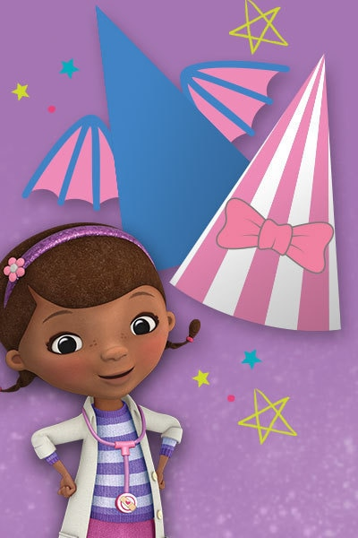 Doc McStuffins Party Hats