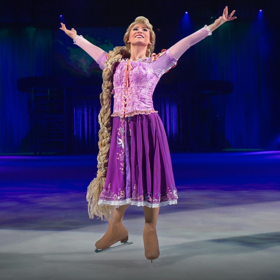 Rapunzel from the Wonderful World of Disney On Ice show