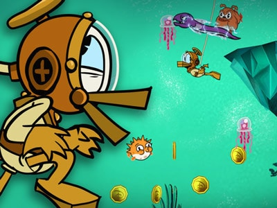 بطوط فيTREASURE FRENZY!