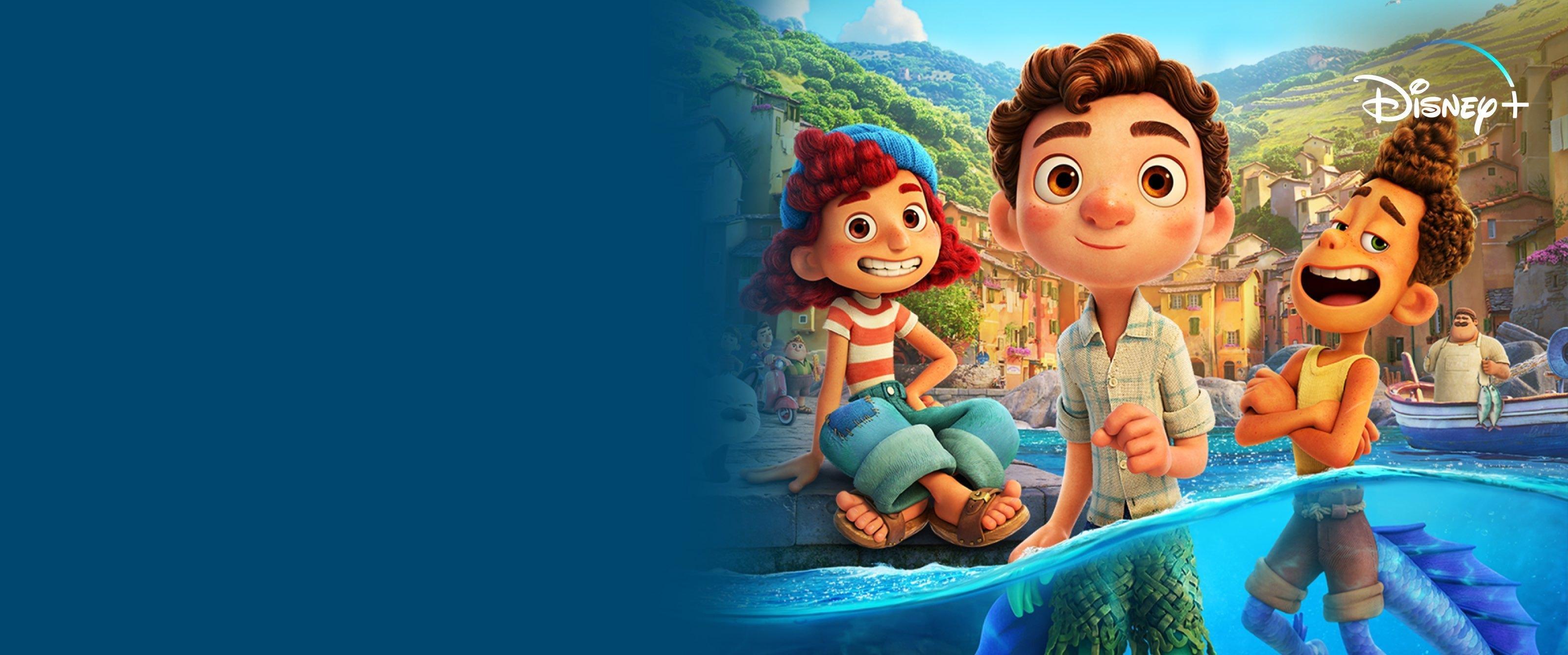Luca ist jetzt auf Disney+ verfügbar