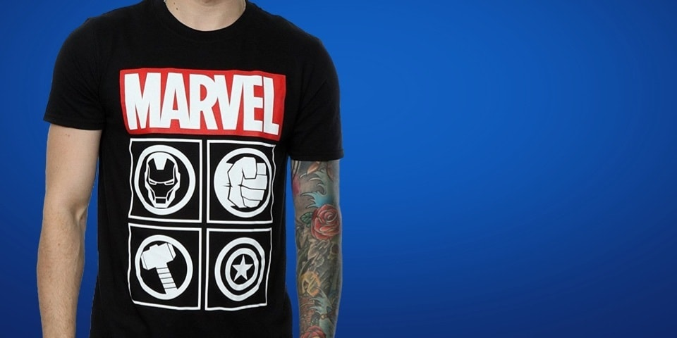 Discover the Marvel Shop