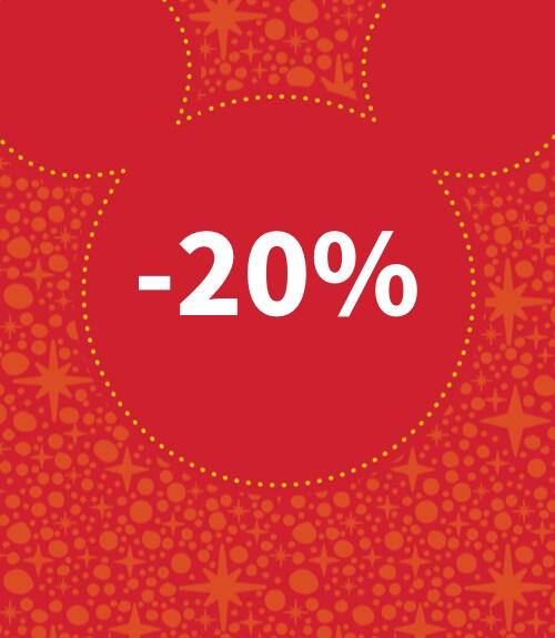 Disney Store | -20 % em Disney Store