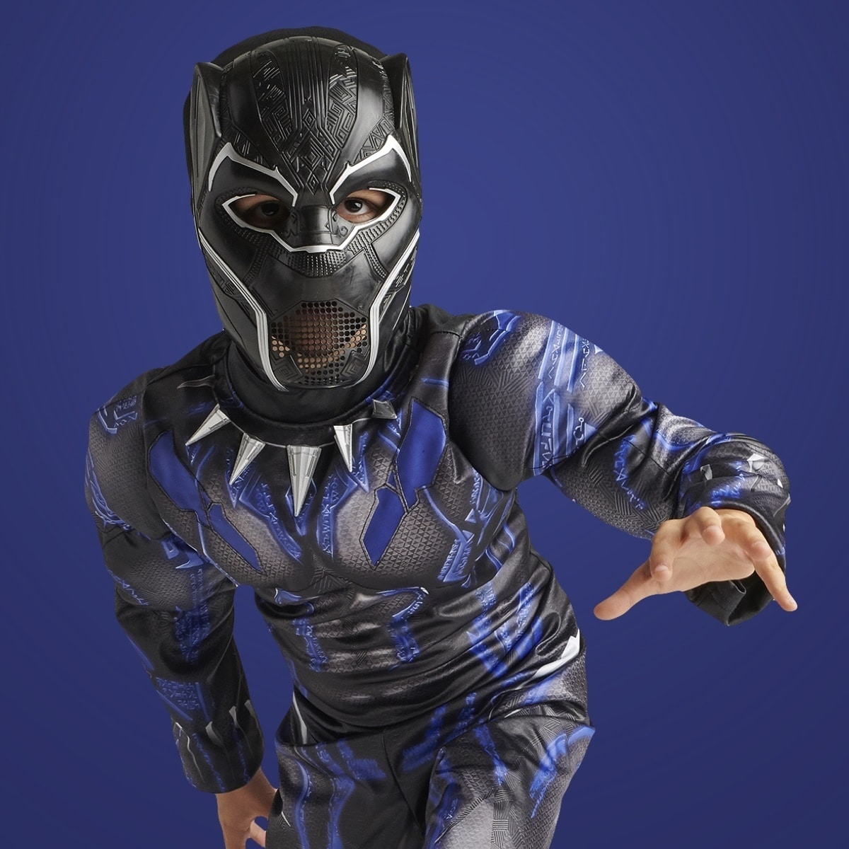 Child in Black Panther Costume