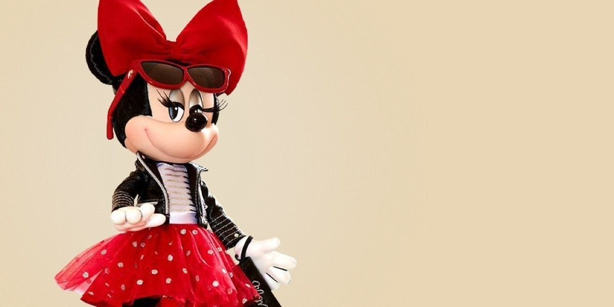 Disney Store | Minnie Mouse limitierte Edition Puppe