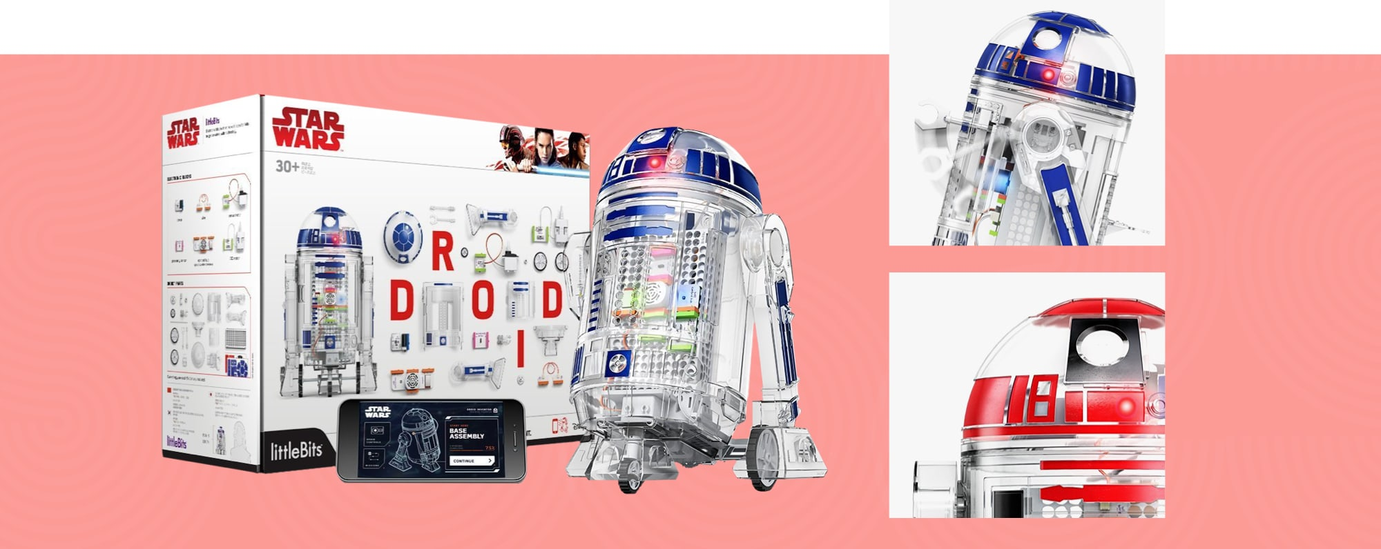 LittleBits Star Wars Droid Inventor Kit of R2-D2