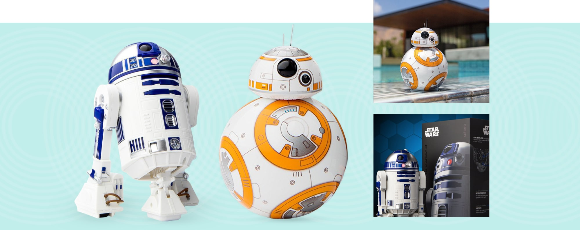 Sphero BB-8 and R2-D2 App-Enabled Droids