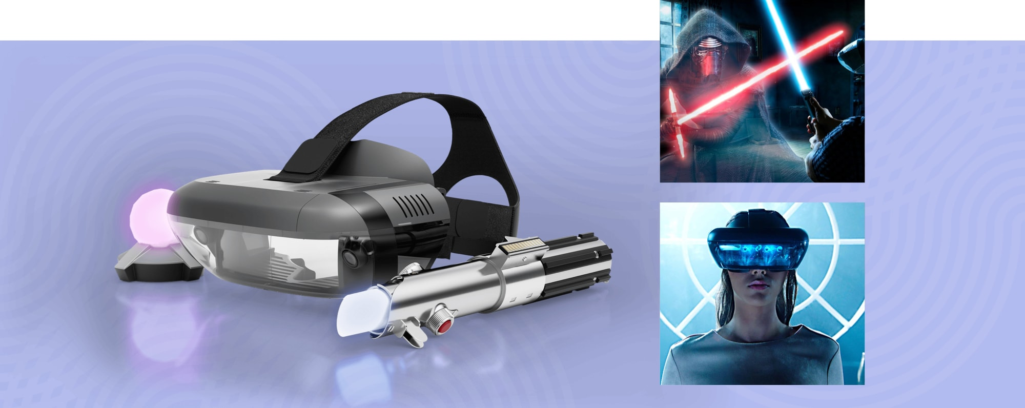 Star Wars™: Jedi Challenges by Lenovo, a female wearing the AR headset