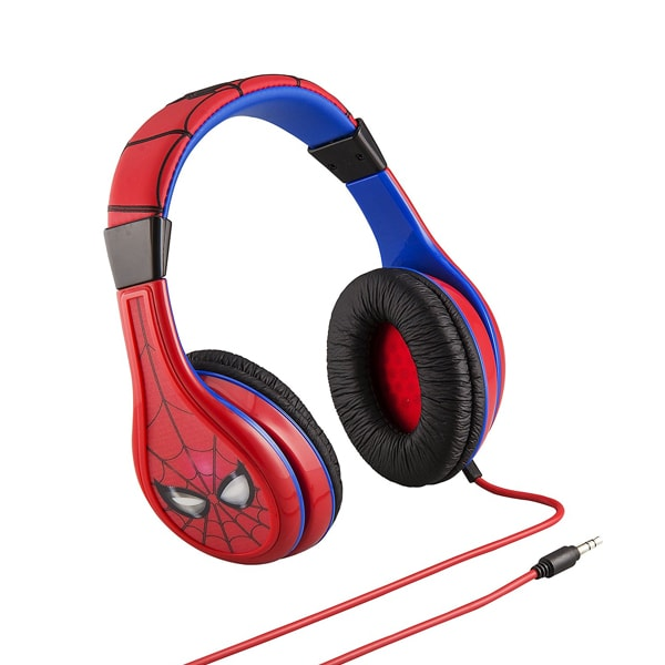 Marvel Spider-Man Kid Friendly Headphones