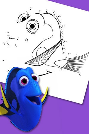 Dory Connect the dots