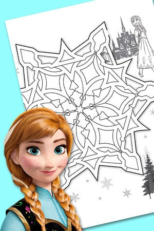 Le Labyrinthe d'Elsa et Anna