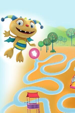 Hugglemonster Maze