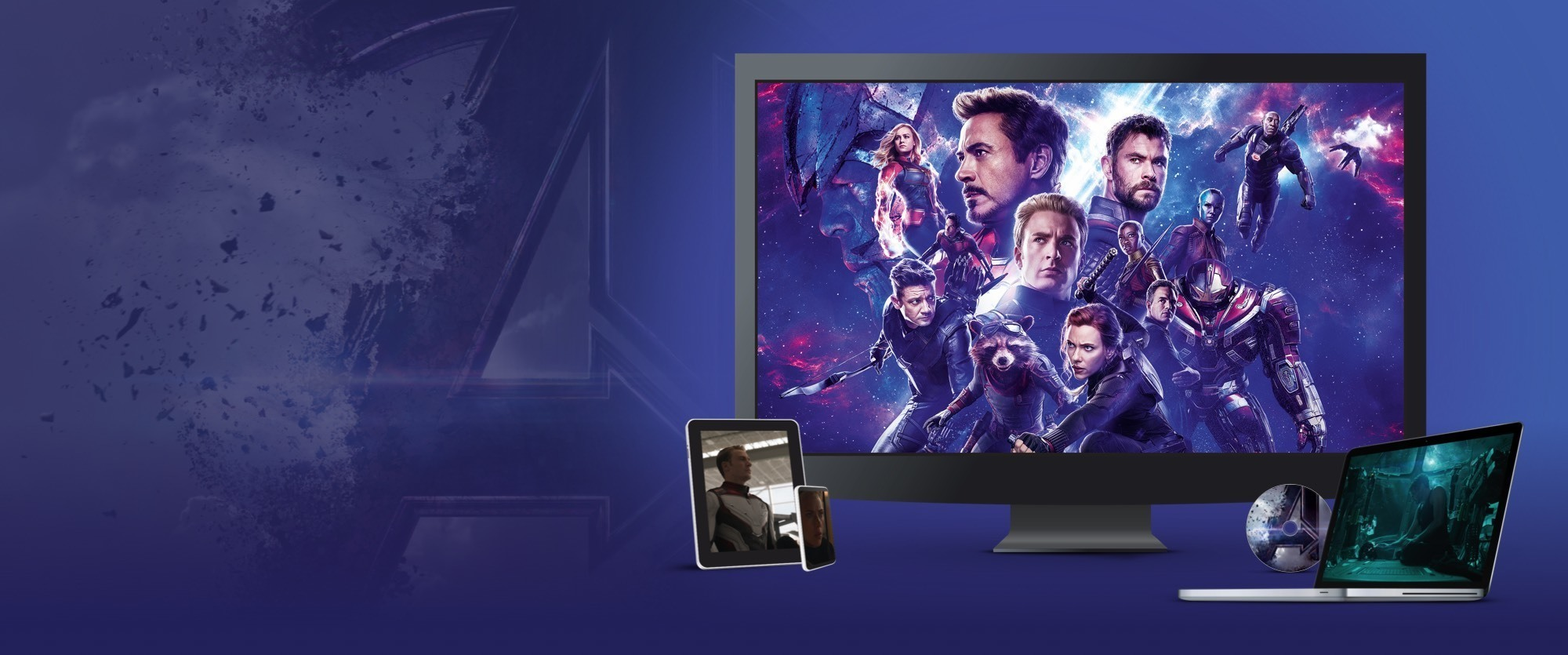 Avengers: Endgame disponibile in Blu-ray. DVD e Digital Download