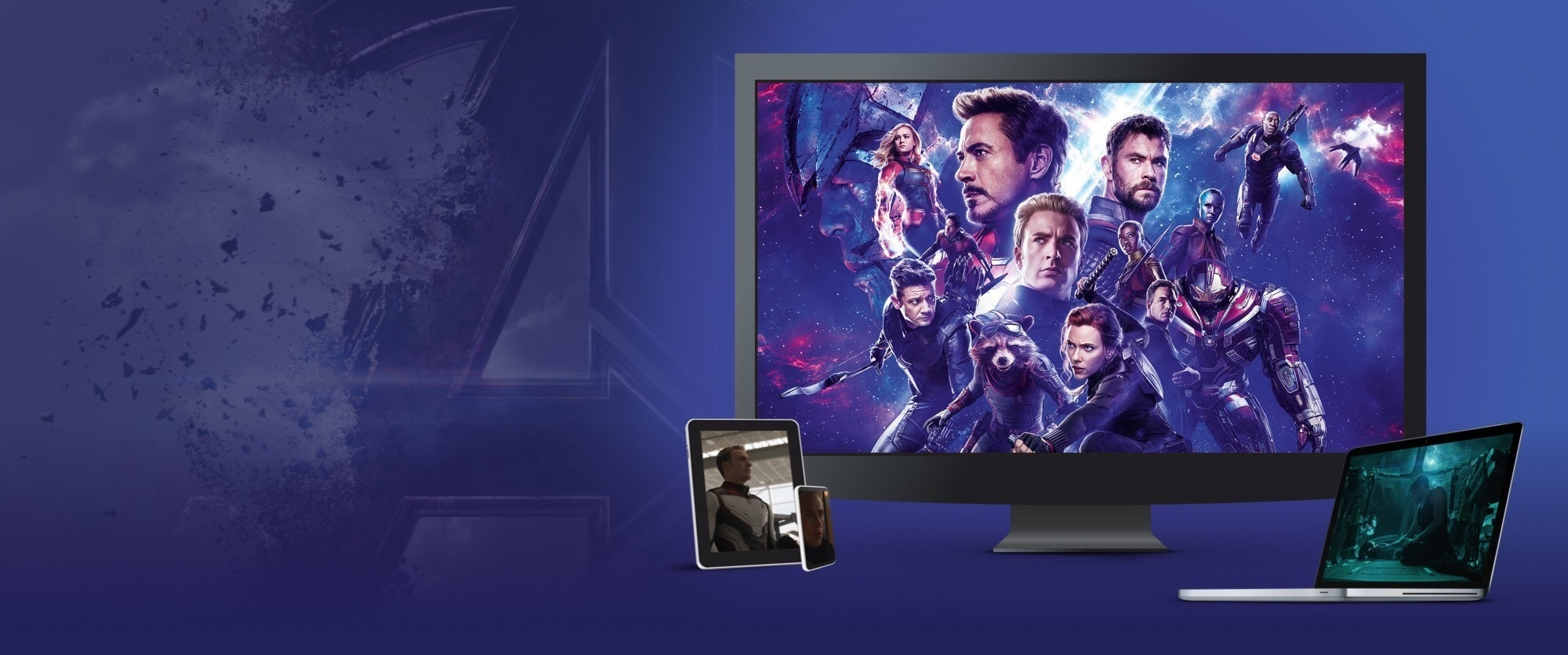 Download and keep Avengers: Endgame