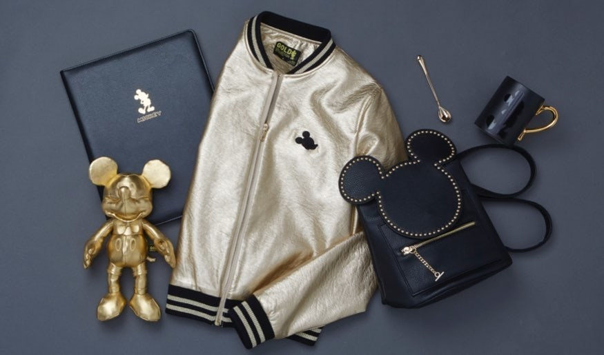 ShopDisney l Mickey Gold Collection