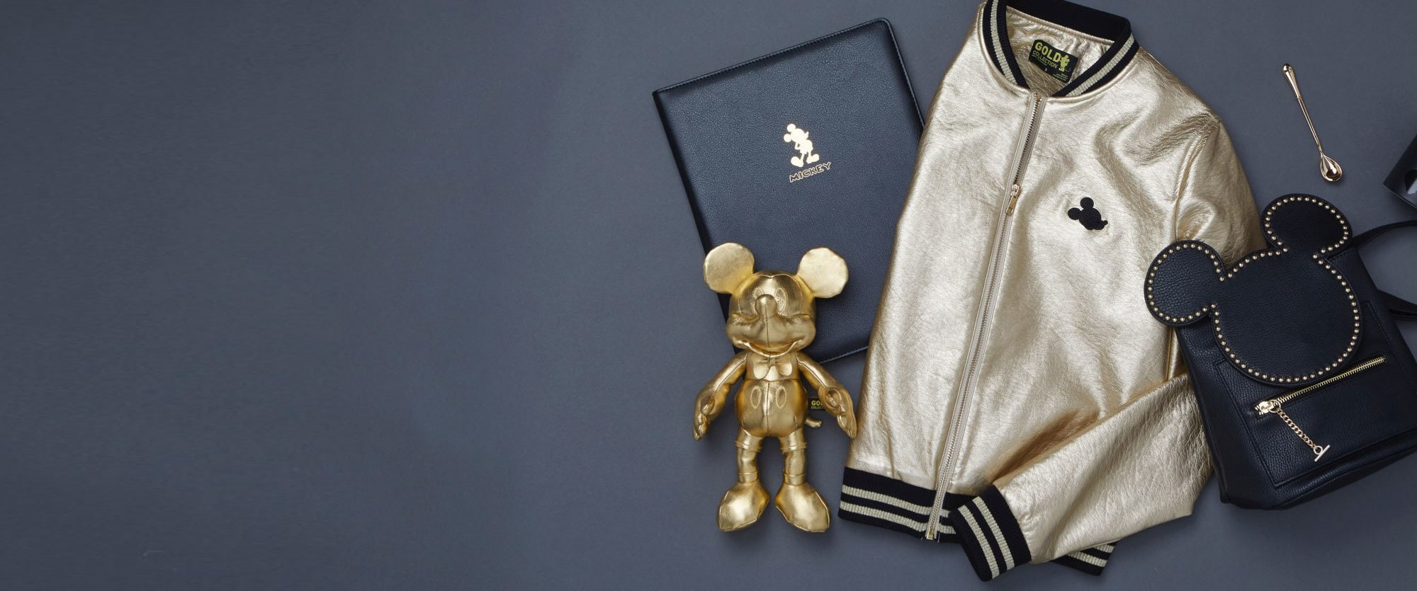 ShopDisney Collection Mickey Mouse Gold