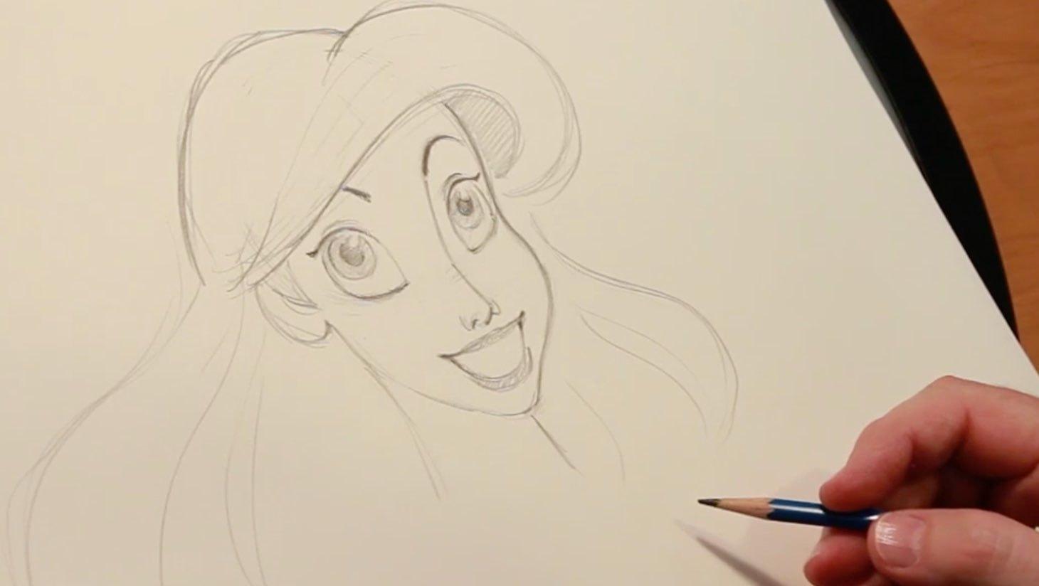 Zeichne mit Ariel