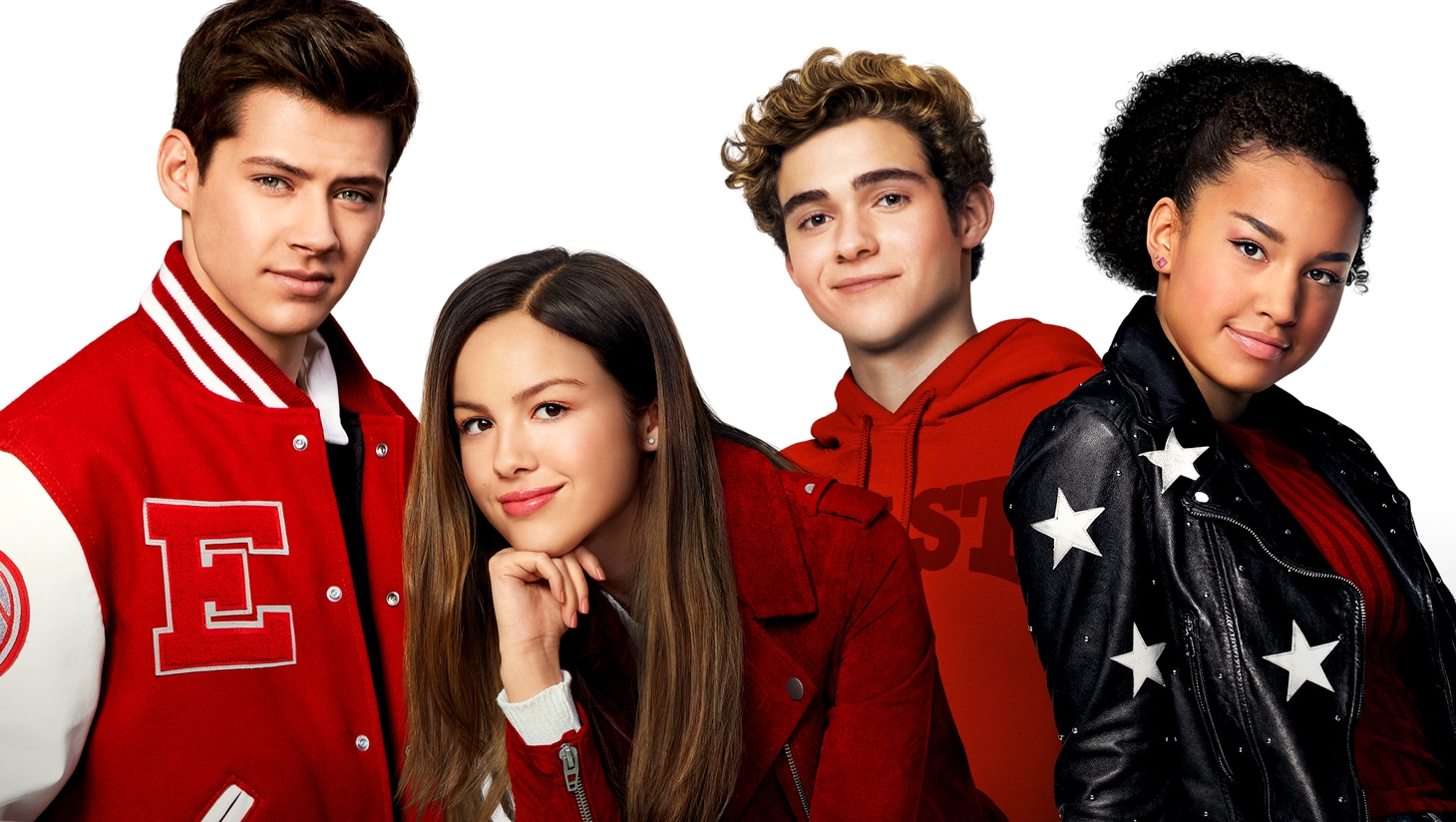 De cast van High School Musical: The Musical: De serie