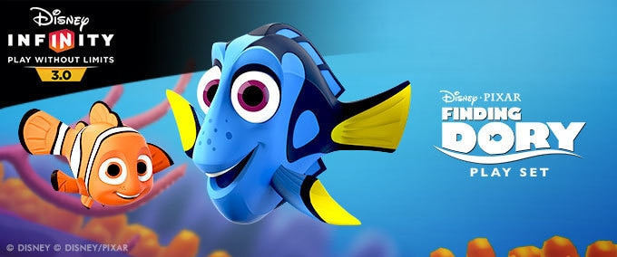 Dory comes to Disney Infinity 3.0
