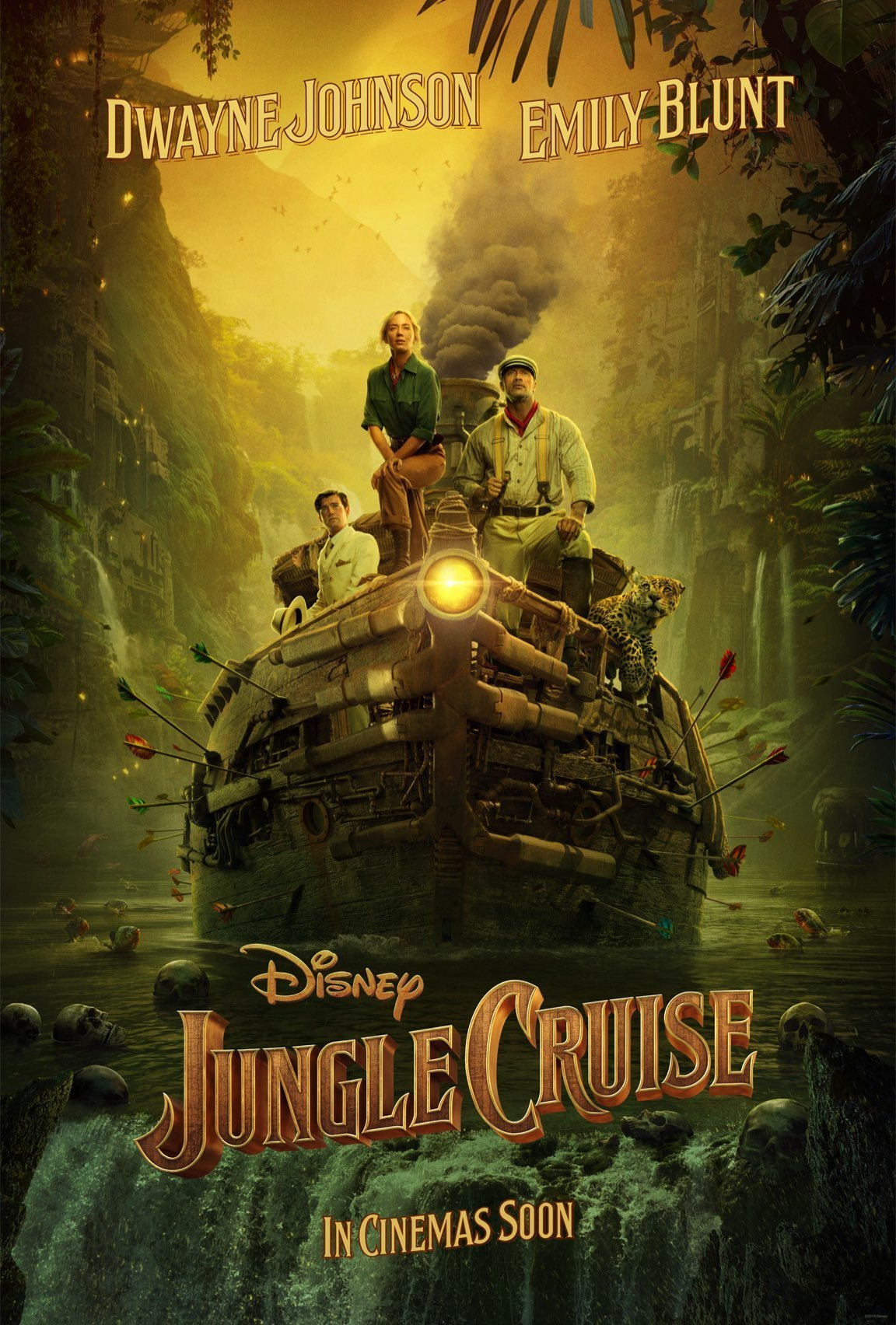 Jungle Cruise - A Maldição Nos Confins Da Selva