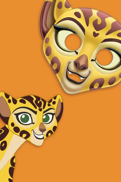 Masker van Fuli