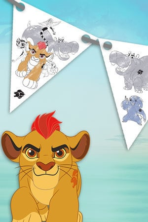 Lion Guard - Bunting