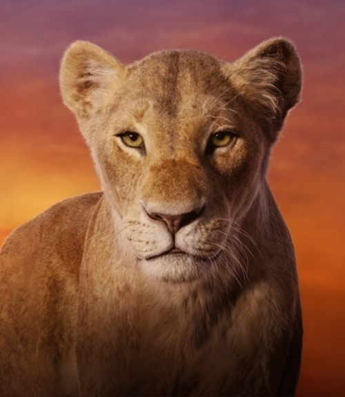Nala on The Lion King